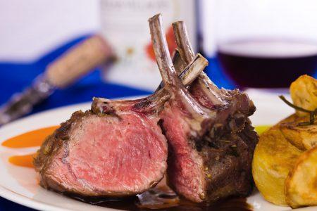 Roasted Lamb Rack